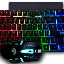 Combo Gamer Teclado Semi-Mecânico Anti ghosting + Mouse + Mousepad - KMEX