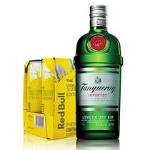 Combo Gin Tanqueray + Red Bull Tropical -