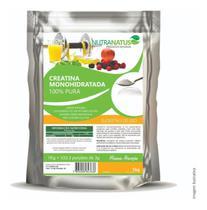 Combo Glutamina Pura Importada 1kg + Creatina Pura 600g - Nutranatus