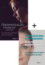 Combo  hof  harmonização orofacial e toxina butolínica e preenchedores - DI LIVROS EDITORA LTDA