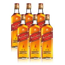 Combo Johnnie Walker Red 6 Uni - 6 JW Red Label 750ml