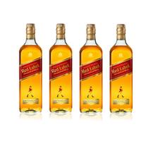 Combo Johnnie Walker Red Premium 4 (4 JW Red Label 1L)