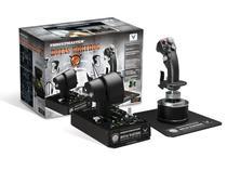 Combo Joystick Flight Stick + Throttle Thrustmaster Hotas Warthog para PC -