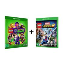 Combo Lego DC Super Villains + Lego Marvel Super Heroes 2  - Xbox One - Tt Games
