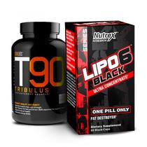 Combo: Lipo 6 Black + T90 Tribulus - Monster suplementos