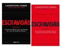 Combo Livros Escravidão Laurentino Gomes Volume 1 E 2 -