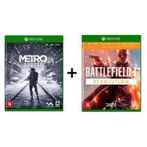 Combo Metro Exodus + Battlefield 1 Revolution  - Xbox One - Microsoft
