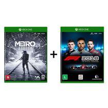Combo Metro Exodus + F1 2018 Formula 1 18 - Xbox One - Microsoft