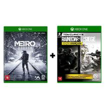 Combo Metro Exodus + Rainbow Six Siege Edição Avançada - Xbox One - Microsoft
