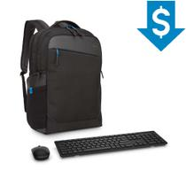 Combo Mochila para Notebook Dell Professional 15,6
