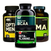 Combo Opti-Men 150 + BCAA 400 + ZMA 180 + Beta-Alanine ON - Optimum nutrition