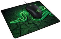 Combo Razer Mouse Abyssus + Mouse Pad Goliathus Fissure Control -