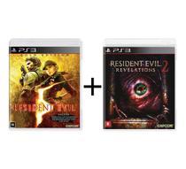 Combo Resident Evil 5 Gold + Resident Evil Revelations 2 - PS3 - Warner Bros