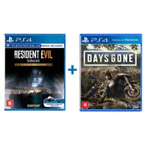 Combo Resident Evil 7 Gold Edition + Days Gone - PS4 - Bend Studio