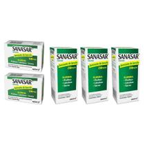 combo sanasar benzoato de benzila elimina piolhos lêndeas sarna 2x sabonete 3x emulsão - kley hertz -
