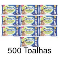 combo Toalhas umedecidas mamypoko ideal para higiene diária do seu bebê toque suave 10x50 unidad - Daviso