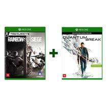 Combo Tom Clancys Rainbow Six Siege + Quantum Break- Xbox One - Ubisoft