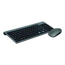 Combo Wireless C3TECH Teclado + Mouse 2.4 GHZ Business K-W510SBK - C3 tech