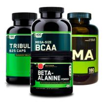 Combo ZMA 180 +Tribülüs + BCAA 400 + Beta-Alanine ON Optimum - Optimum nutrition
