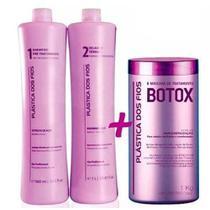 Comboi Kit Plastica Dos Fios + Botox Control 1 Kg -