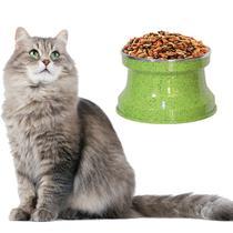 Comedouro Aluminio Medio Gatos, Cor: Verde Pigmentado - Gastrobel