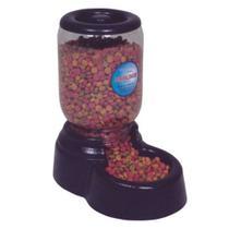 Comedouro Automatico Mini Antibactaria P/ Caes E Gatos 1,5kg - Ideal Dog