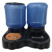 Comedouro e Bebedouro Automático Duplo 10L/8,5kg - Royal Pets