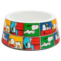 Comedouro para Cachorro Melanina Snoopy Quadradinho Zooz Pets -