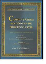 COMENTARIOS AO CODIGO DE PROCESSO CIVIL VOL. X - 6ª EDICAO  ENCADERNADO - Forense (Grupo Gen)