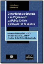 Comentarios ao E. R. da P. C. E. Rio de Janeiro - FREITAS BASTOS