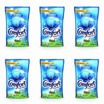 Comfort Original Amaciante De Roupas Concentrado 900ml (Kit C/06) -