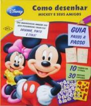 Como Desenhar Mickey E Seus Amigos - Dcl -