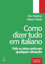 Como Dizer Tudo Em Italiano - Ltc -