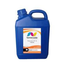 Compatível Tinta para Cartucho HP 122 10 C-4844 - HP 500 2600 K850 9130 9120 9110 Black Corante de 5 - Toner Vale
