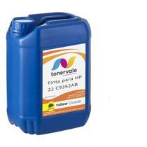 Compatível Tinta para Cartucho HP 122 22 C9352A Impressora F4180 J3680 F380 1410 Corante Yellow de 2 - Toner Vale