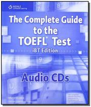 Complete Guide to the Toefl IBT 4th Edition - Audio CDs (12) - Cengage -