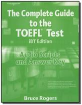 Complete Guide to the Toefl IBT 4th Edition - Audio Script and Answer Key - Cengage