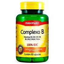 Complexo b 60cps maxinutri -