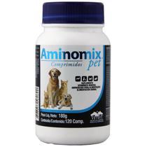 Complexo Mineral Aminomix Pet Vetnil 120 Comprimidos -