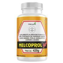 Composto de mel e extrato de propolis melcoprol super 420g -