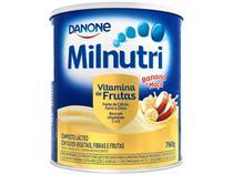 Composto Lácteo Milnutri Banana e Maçã - Vitamina de Frutas 760g