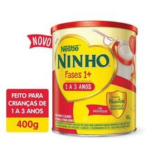 Composto Lácteo Ninho Fases 1+ Integral  de 400 e 800g -