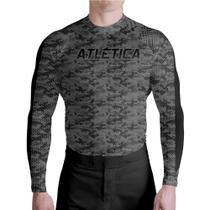 Compressão Textura Black Graduation Atlética Esportes -