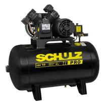 Compressor 10 Pés 100 Litros 140 Libras 2 Horse Power CSV-10/100 PRO SCHULZ -