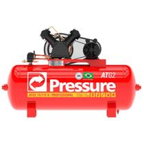 Compressor 10 Pés 2 HP 100 Litros 2 Pistões com Motor Mono ATG2 PRESSURE -