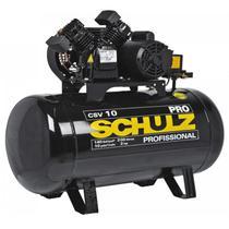 Compressor 10 Pés 200 Litros 140 Libras 2,0 HP CSV-10/200 PRO SCHULZ -
