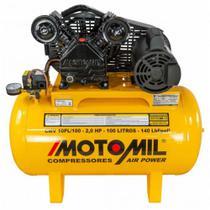 Compressor Air 10 Pés CMV 10PL/100 Monofásico 110/220v - Motomil