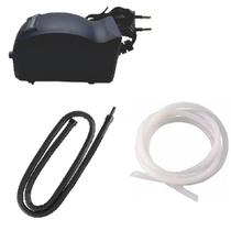 Compressor Aquario + Cortina De Ar Aquario Oxigenador 75cm - Pet import