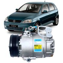 Compressor Ar 12v Gm Corsa 1.6 Mpfi Gasolina 2002 - Delphi
