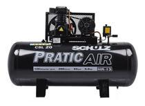 Compressor ar 20pcm 200lts triaf pratic csl20 schulz -